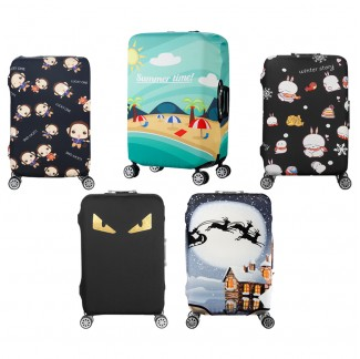 "Elastic Travel Luggage Cover 20""/24""/28"""