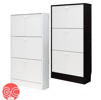 GC SR001 3 Layers European Style Wooden Shoe Cabinet