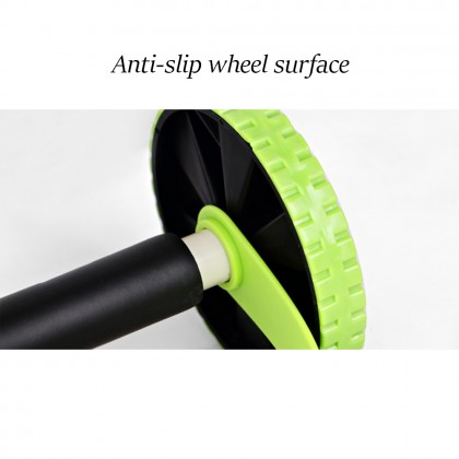 Double Wheels AB Roller with Pull Rope