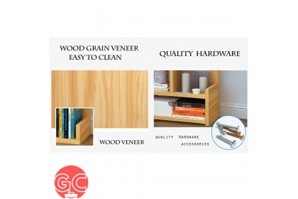 GC 37N Wooden Book Shelf Decorative Shelf