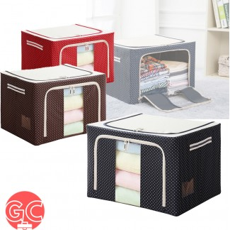 GC 66L Foldable Storage Bag with Steel Frame
