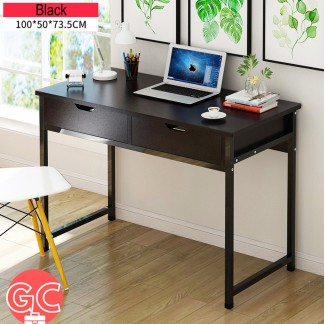 GC OTB003 Simple Modern Study Table Home Office Table with Drawers