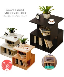 GC Square Shaped Simple Coffee Table Side Table – E599