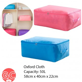 GC 50L Large Capacity Multipurpose Cloth Organizer with Zipper and Handle