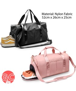 GC TDB005 Travel Duffle Bag Waterproof Dry & Wet Gym Bag Sport Bag with Shoe Compartment