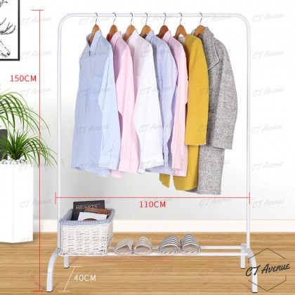 CT Strong Steel Structure Laundry Rack Cloth Organizer Cloth Hanger